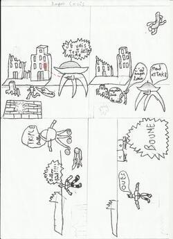 projet Bande dessinée : quelques résultats - CM