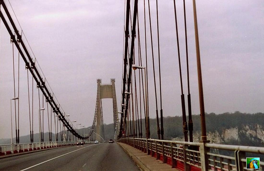 NORMANDIE mai 2017, TANCARVILLE et le pont de NORMANDIE