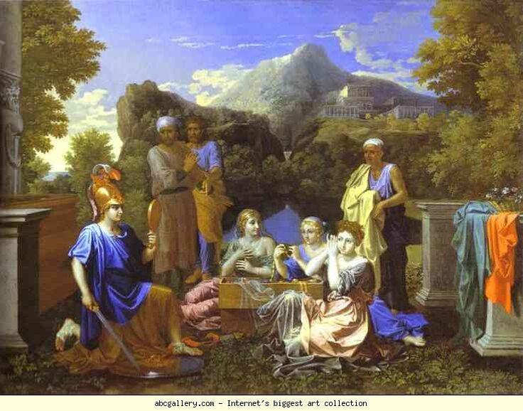20 Tableaux du monde de la mythologie grecque #1