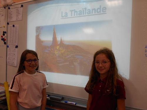 Exposé sur la Thaïlande