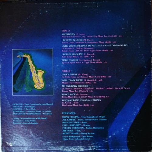 "Monk Higgins : Album "" Dance To The Disco Sax Of Monk Higgins "" Buddah Records BDS 5619 [ US ]"