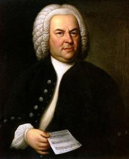 Johann Sebastian Bach (à 61 ans), par Elias Gottlob Haussmann