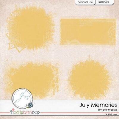 July Memories de JOEY