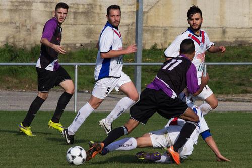 fotofoot, des, étangs, photo, foot, ball, football, EFDE, papy, martial