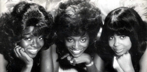 "The Flirtations : Album "" Nothing But Heartaches "" Deram Records DES 18028 [ US ]"