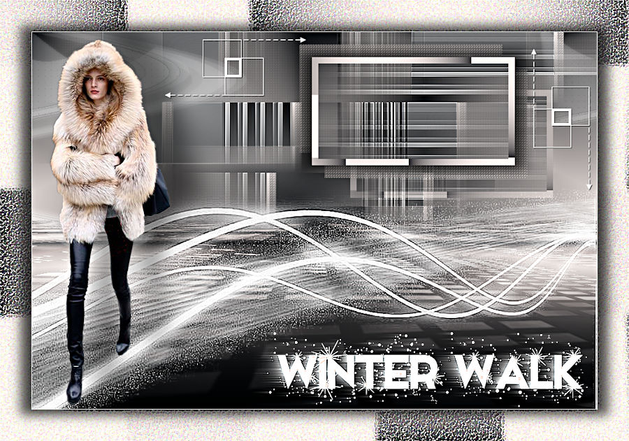 Tutorial Valy Scrap Passion ~ Winter Walk