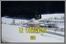 Le Lasachtal dans les Alpes Carniques en Autriche