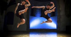 dance ballet dance  camera projection