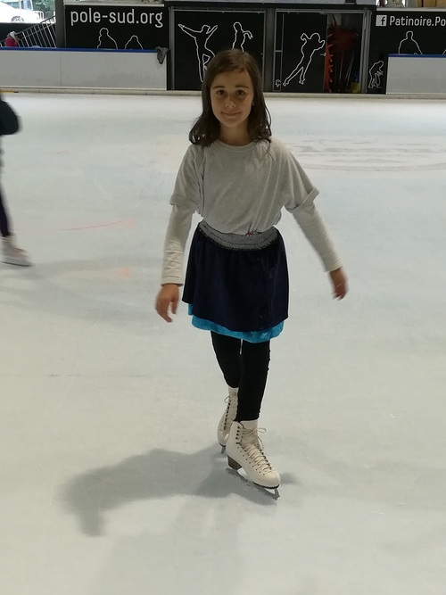 Une jupe pour ma patineuse