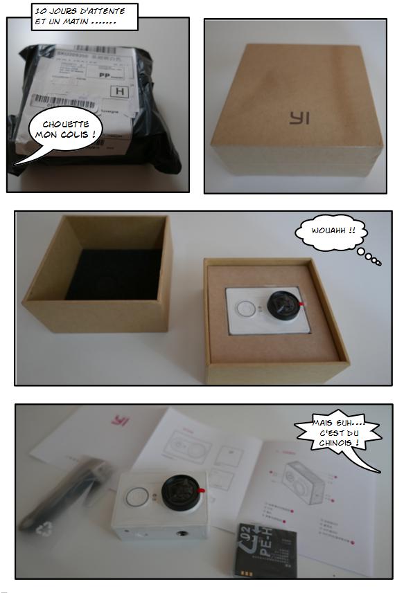 Caméra Xiaomi Yi , mes impressions de motard !