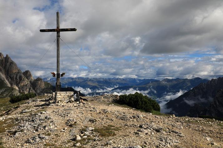 Trek dans les Dolomites, Monte Specie, Strudelkopf