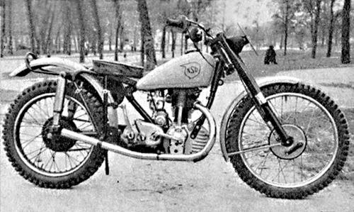 NSU 251 OSL : moto-cross & tout terrain (2)