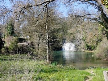 Le site de la cascade du Tombereau
