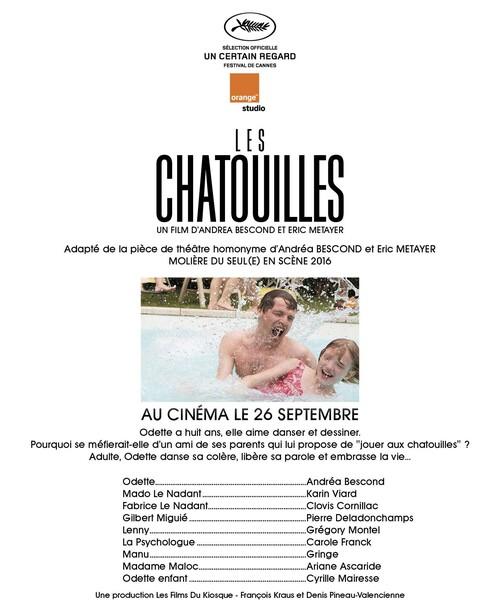 """CANNES 2018 - """"LES CHATOUILLES"""" SÉLECTIONNÉ DANS LA CATÉGORIE UN CERTAIN REGARD"""