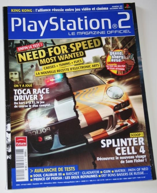 Playstation 2 mag 103