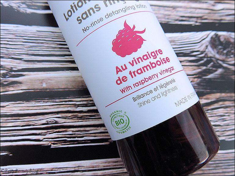 Centifolia : le rinçage au vinaigre de framboise