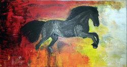 Le cheval feu