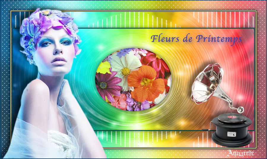 Vos versions de Fleurs de printemps