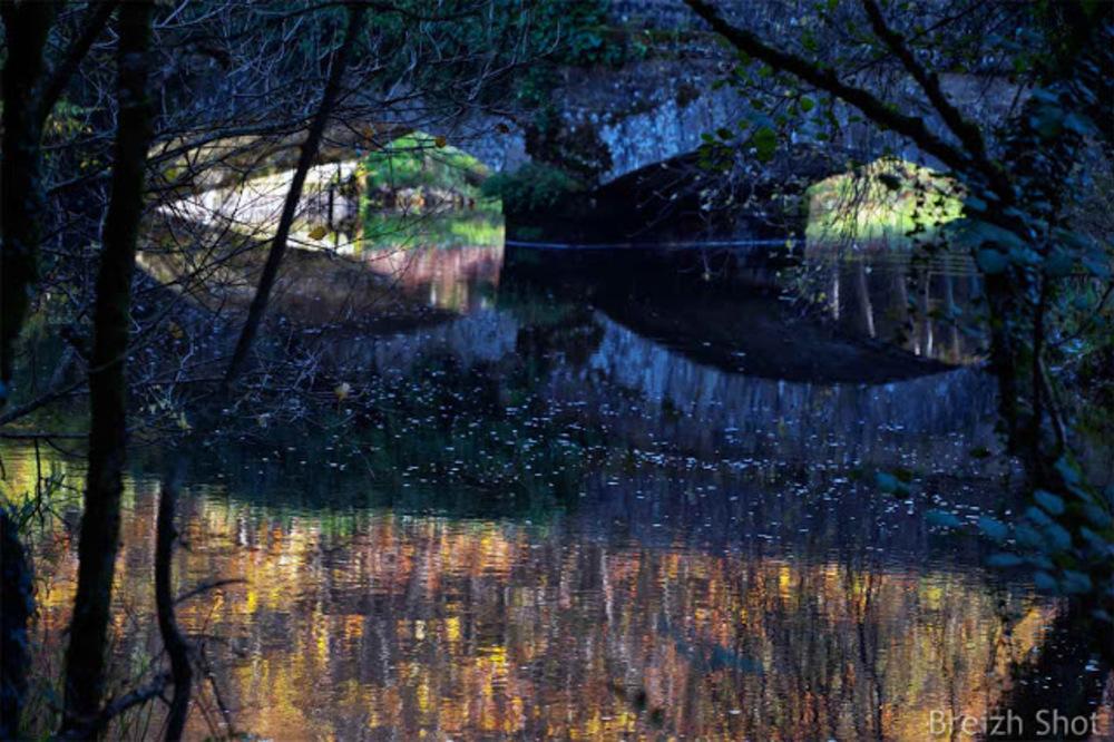 Pont Calleck miroir du Scorff