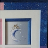cadre Francine angle bleu
