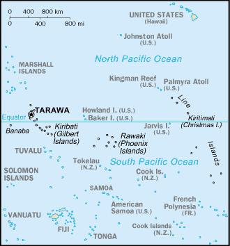 Kiribati-CIA WFB Map