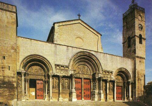 Les dévotions des églises  du Gard : Saint Gilles