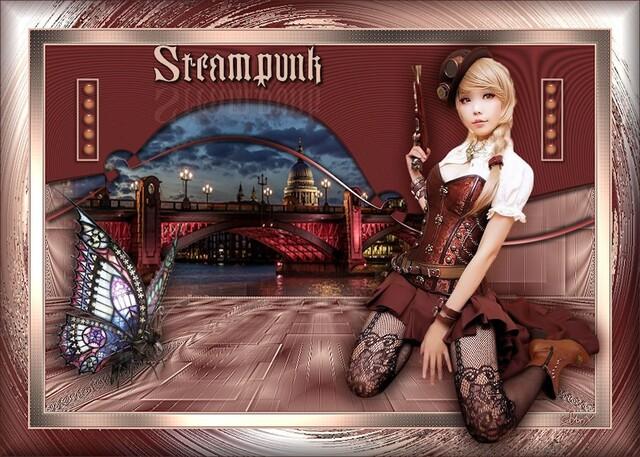 ST0015 - Tube femme steampunk