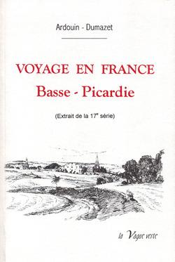 Ardouin-Dumazet, Voyage en France