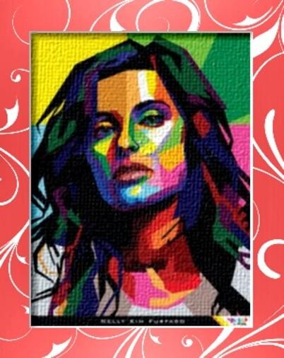 """Dessin et peinture - video 2188 : Un peu de peinture colorée grâce au """"Pop Art""""."""