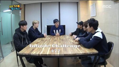 Sortie de l'épisode 477  Infinite Challenge