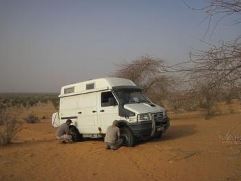 mauritanie piste kiffa kayes 3 plantage jeff