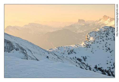 Dernier Lever hivernale en Vercors