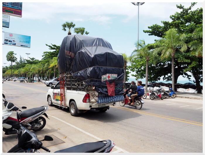 Photos de Thaïlande. Dernière promenade à Jomtien.