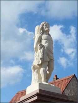 Statues de saint Sébastien