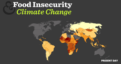 Food insecurity climate change