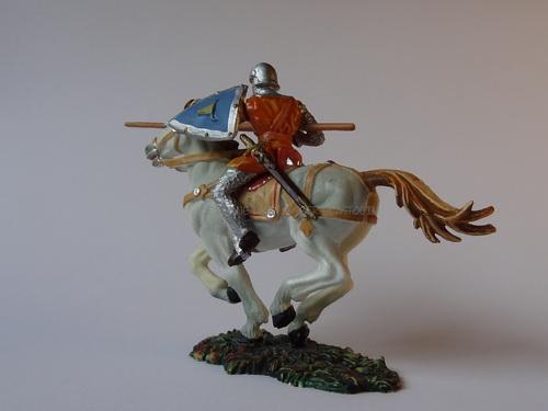 Réf: 8866/1 Les cavaliers avec lance et bouclier triangulaire