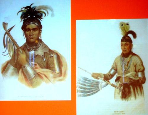 """""""O Gah Pah, une histoire franco-indienne"""" , conférence de L'Association Culturelle Châtillonnaise.."""