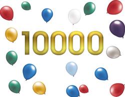 10 000 VISITES !!!
