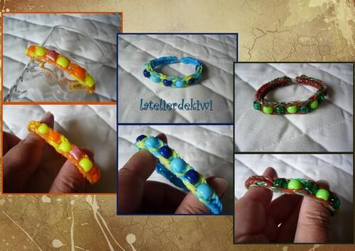 Bracelets loom /perles