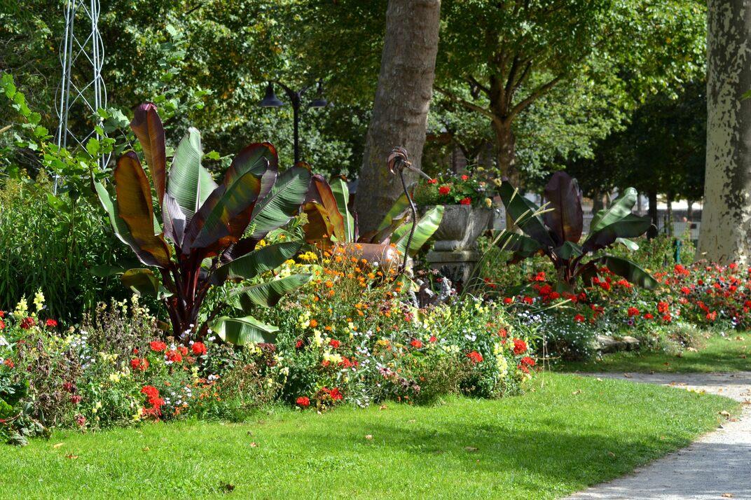 Jardin de la Roseraie - Alençon Orne