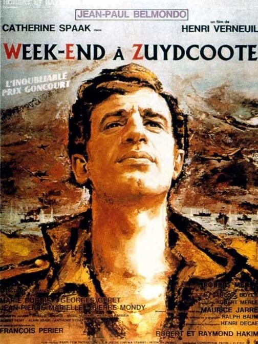 WEEK END A ZUYDCOOTE - JEAN PAUL BELMONDO BOX OFFICE 1964