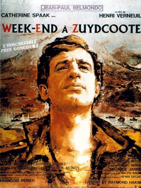 WEEK END A ZUYDCOOTE - JEAN PAUL BELMONDO BOX OFFICE 1964