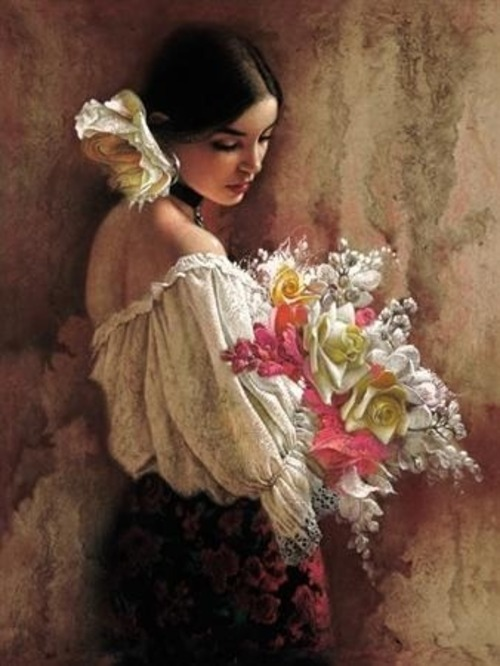Femmes et fleurs(2)