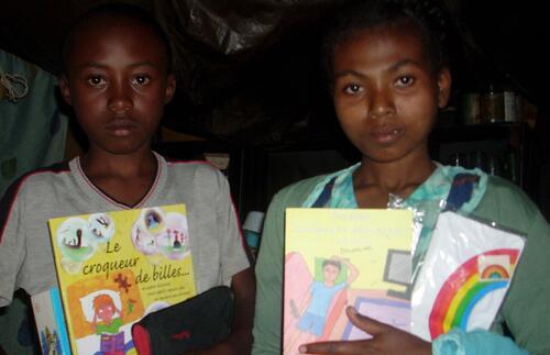 Visite à Madagascar, à Antananarivo, à l'association EFA.