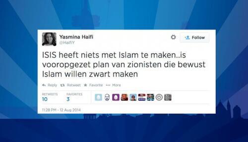 Yasmina Haifi : Une Maroco-néerlandaise licenciée au Pays-Bas pour avoir tweeté que Daesh est inventé par Israël