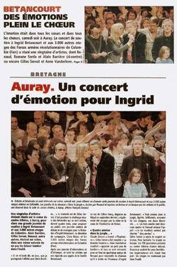 un concert d'émotions