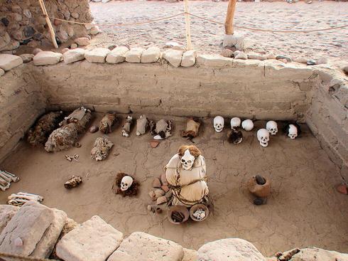 Cimetière Chauchilla, Pérou