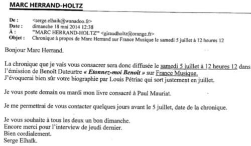 Copie mail France Musique