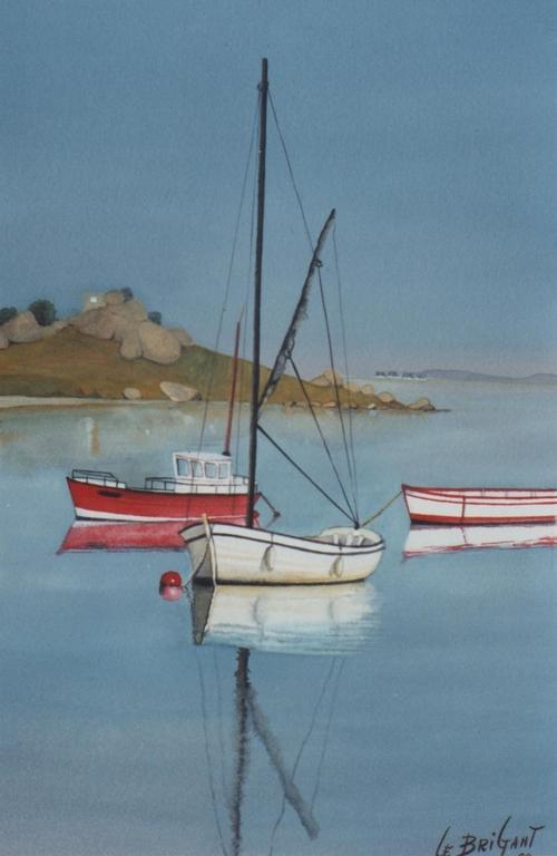La Bretagne en peinture par Michel LE BRIGANT