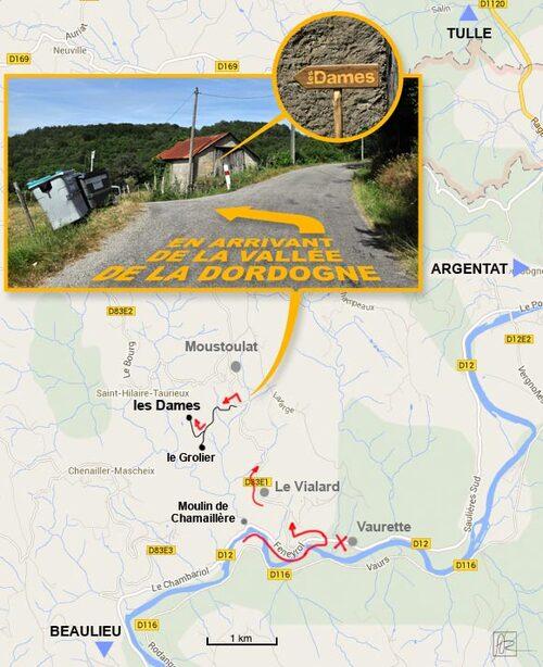 Itinéraire Beaulieu